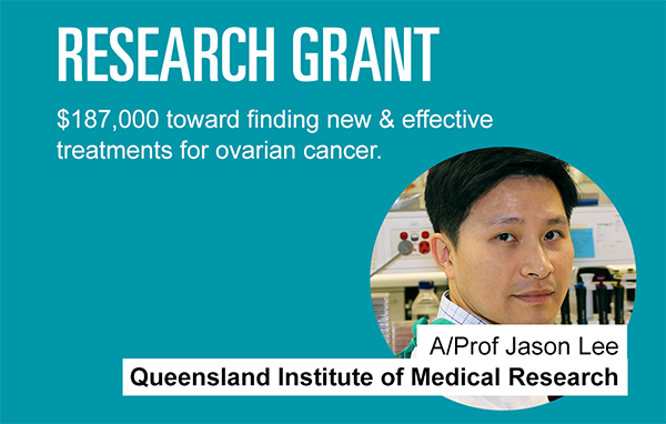 Ovarian Cancer Research Foundation News Associate Professor Jason Lee How He S Stopping Ovarian Cancer Cells In Their Tracks